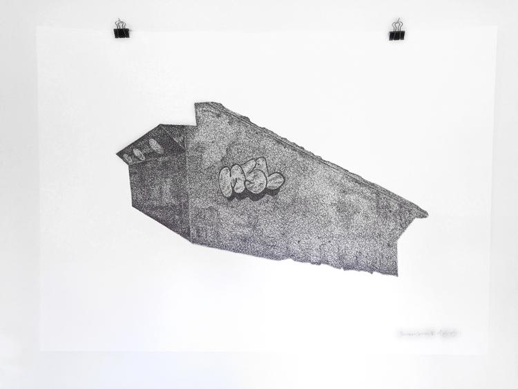 'Teenage Canvas VI', 2016, ett konstverk av Anders Granberg