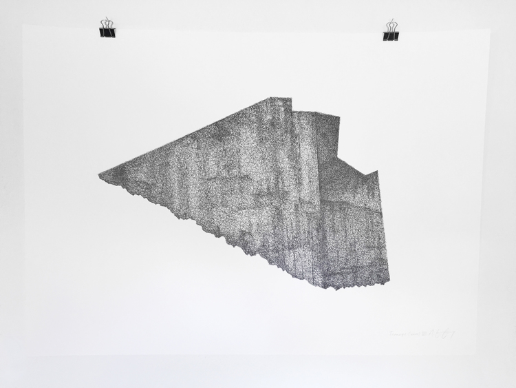 'Teenage Canvas VII', 2016, ett konstverk av Anders Granberg