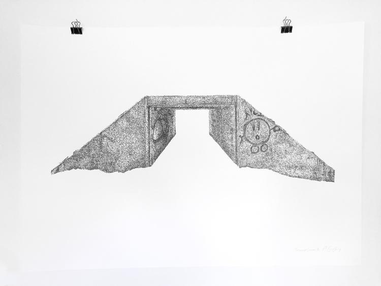 'Teenage Canvas XI', 2016, ett konstverk av Anders Granberg