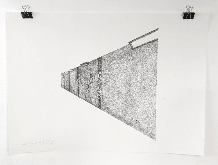 'Teenage Canvas XV', 2016, ett konstverk av Anders Granberg