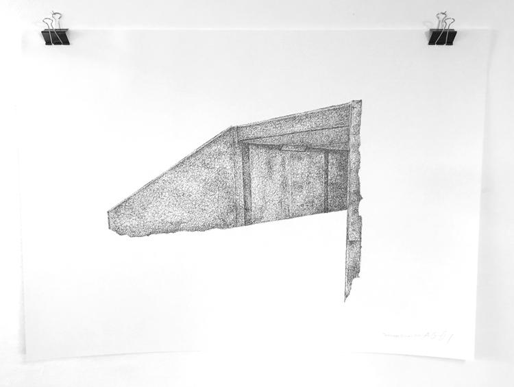 'Teenage Canvas XVI', 2016, ett konstverk av Anders Granberg