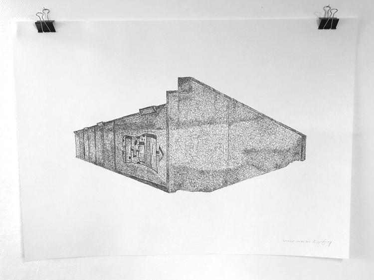 'Teenage Canvas XVII', 2016, ett konstverk av Anders Granberg