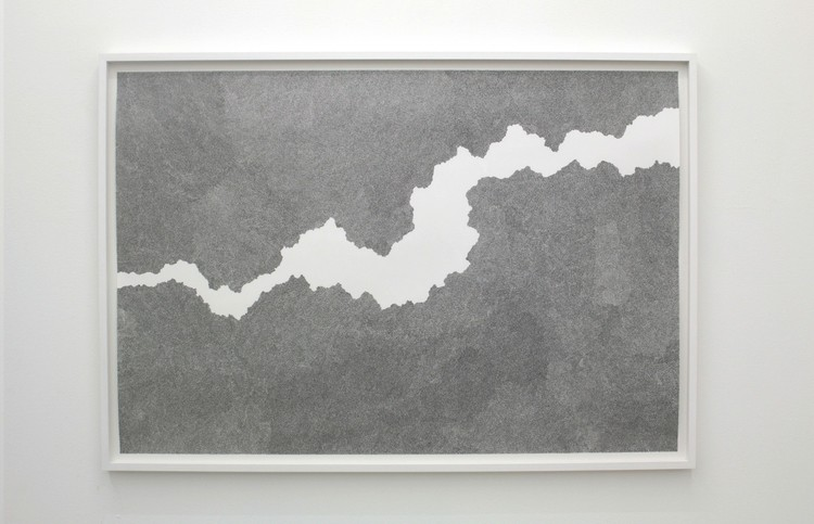 'Between two lines', 2018, ett konstverk av Katarina Klingspor Ekelund