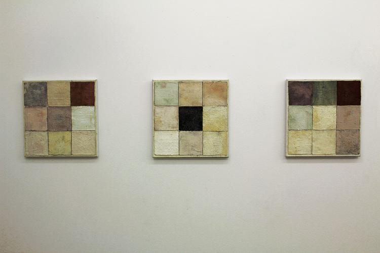 'Komposition 1-3', 2019, ett konstverk av Joakim Norrman