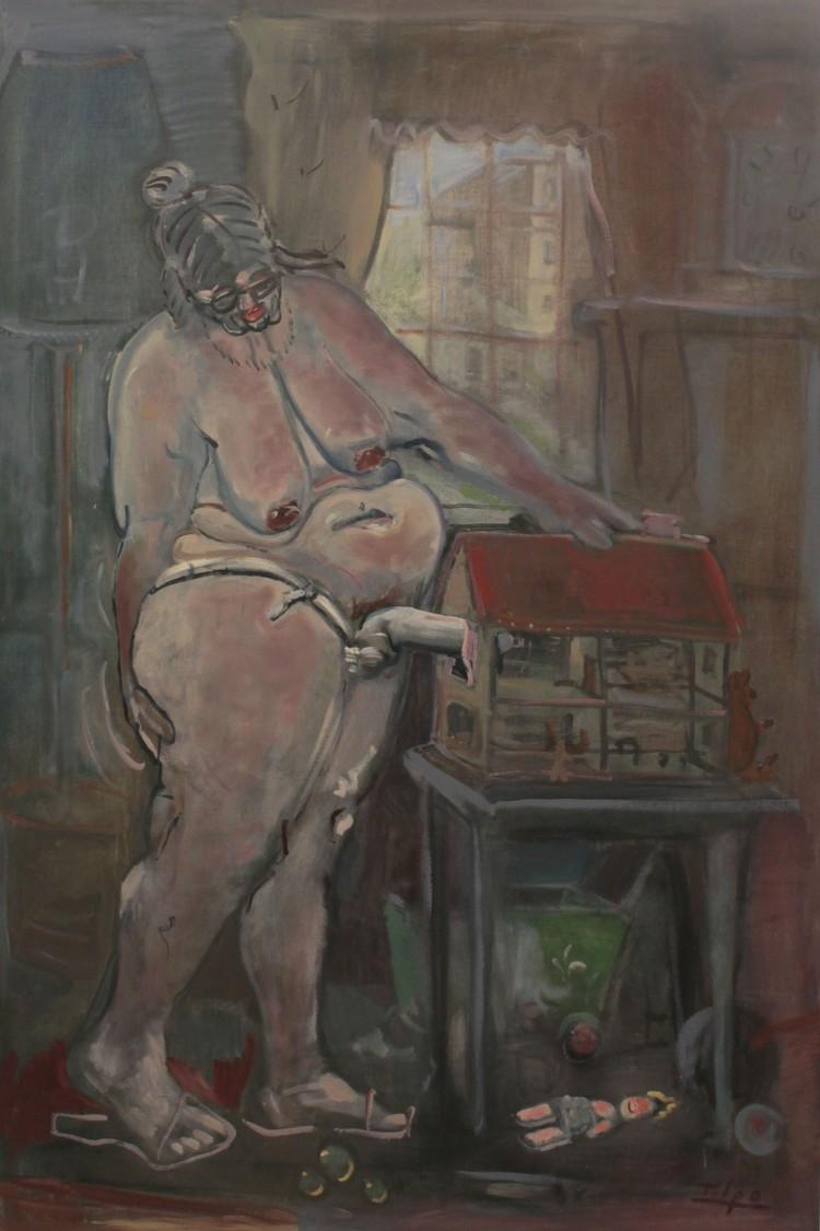 'Fake House', ett konstverk av Tilpo