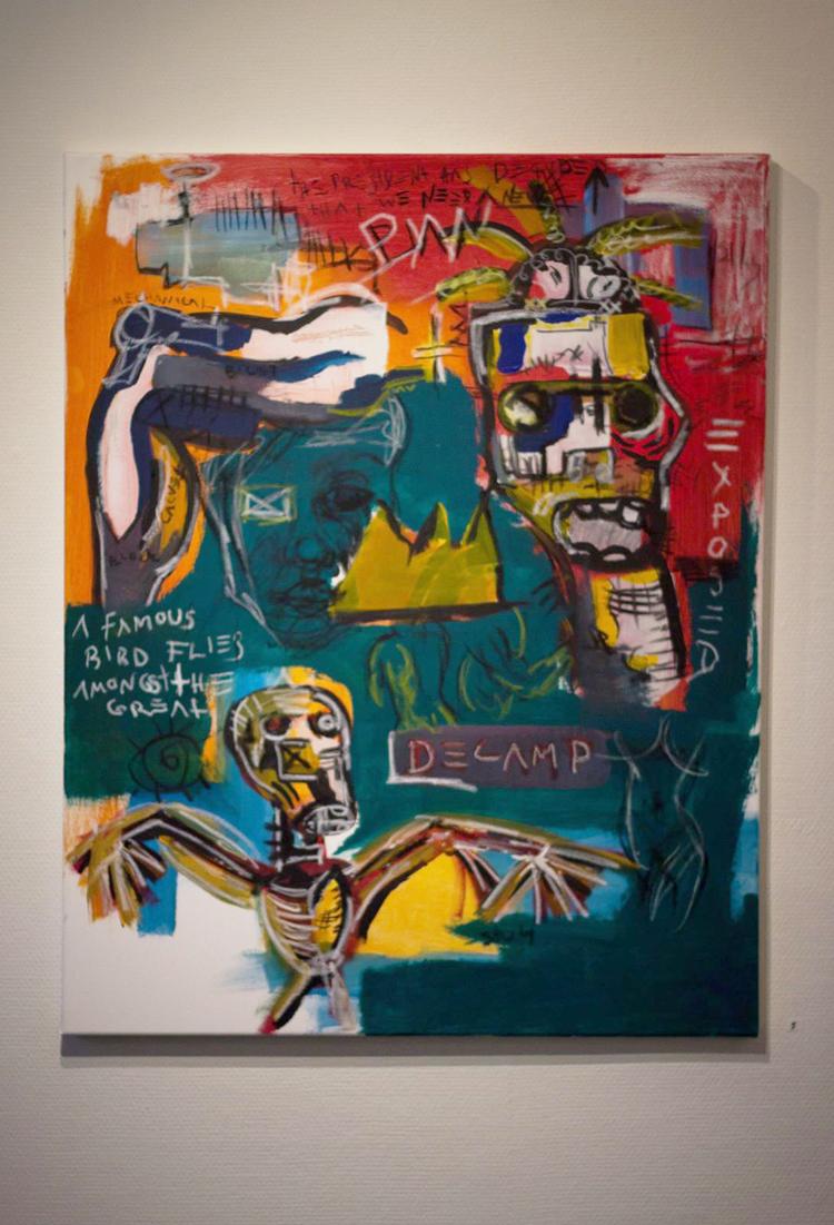 'Extraction', 2018, ett konstverk av Alex Viik