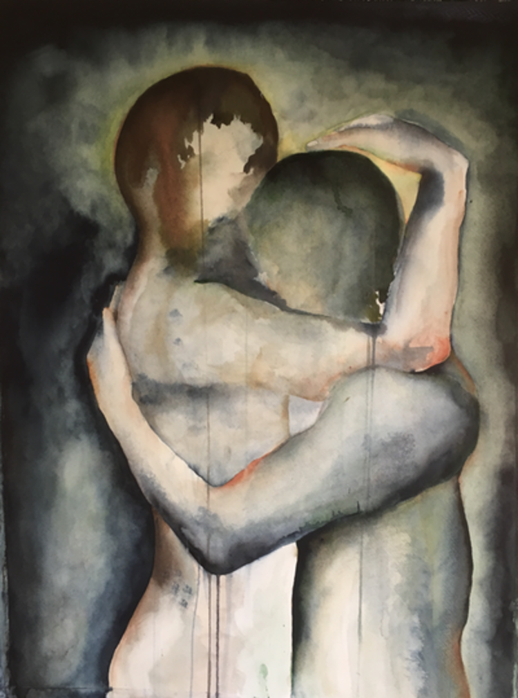 'You hold me', 2018, ett konstverk av Camilla Nilsson