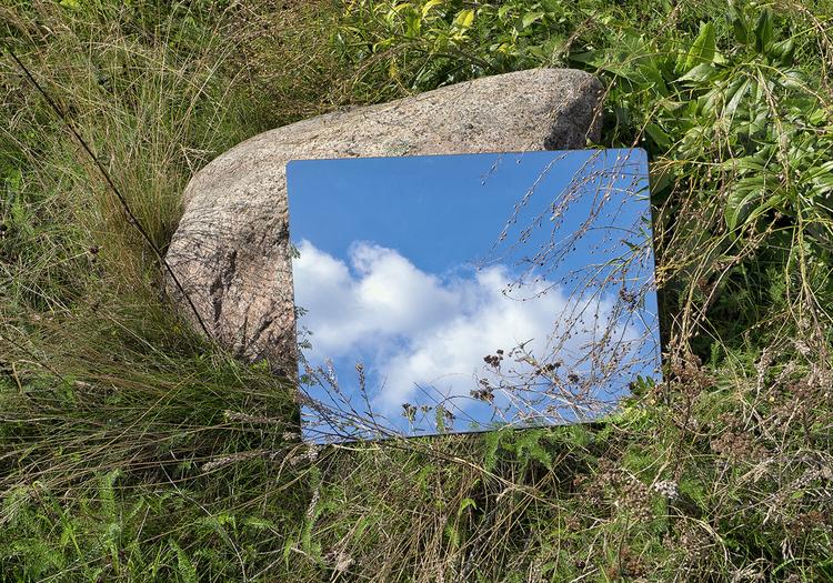 'Untitled (Reflection n°1)', 2018, ett konstverk av Alvaro Campo