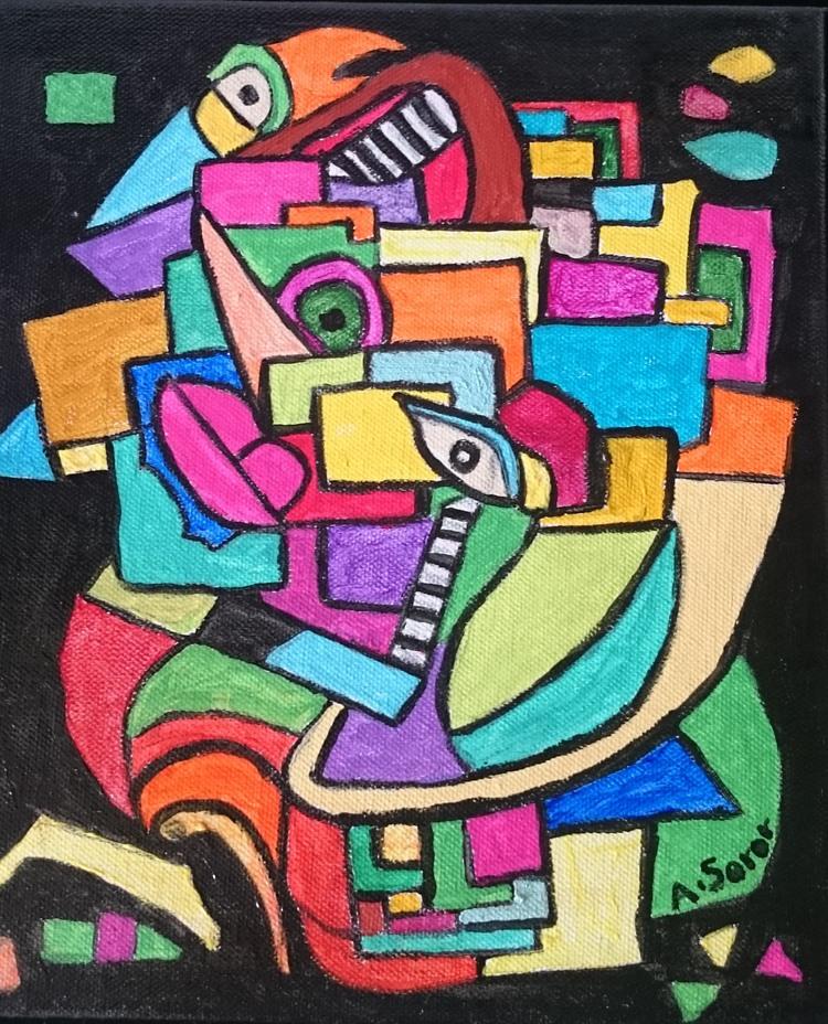 'In My Mind', 2016, ett konstverk av Ali Soror