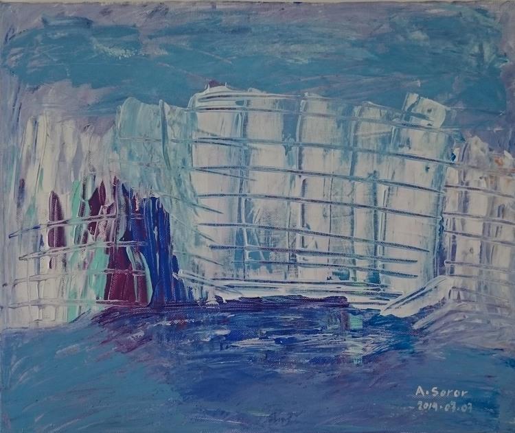 'Harbour', 2019, ett konstverk av Ali Soror