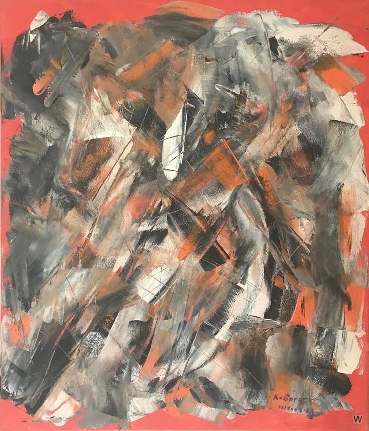 'Totem', 2019, ett konstverk av Ali Soror