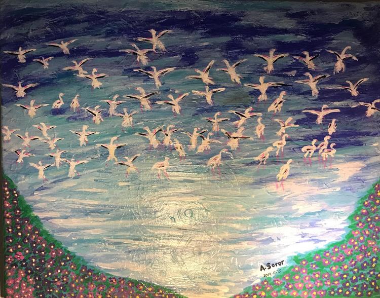 'The spring', 2019, ett konstverk av Ali Soror