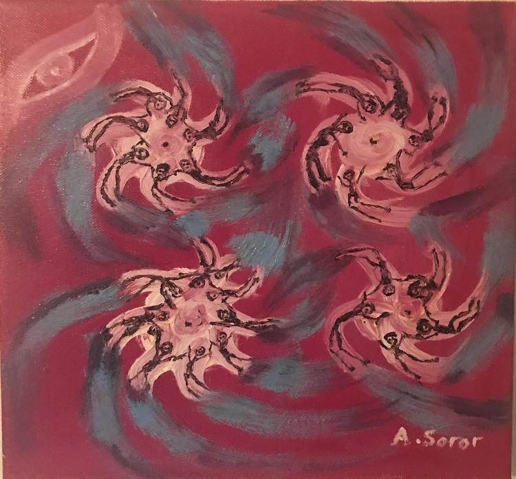 'The storm', 1999, ett konstverk av Ali Soror
