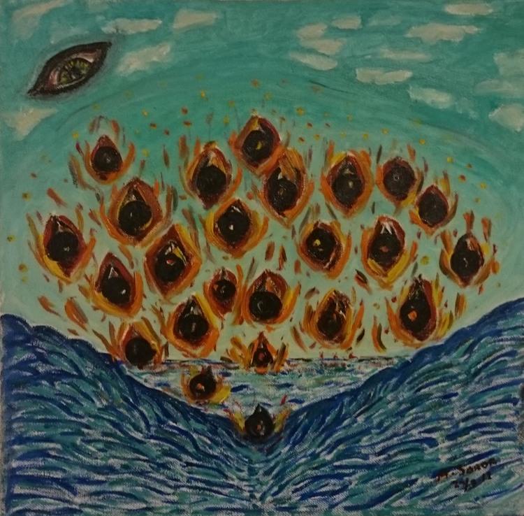 'The Invation from Space', 2008, ett konstverk av Ali Soror
