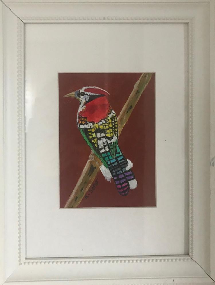 'Woody Woodpecker', 2017, ett konstverk av Ali Soror
