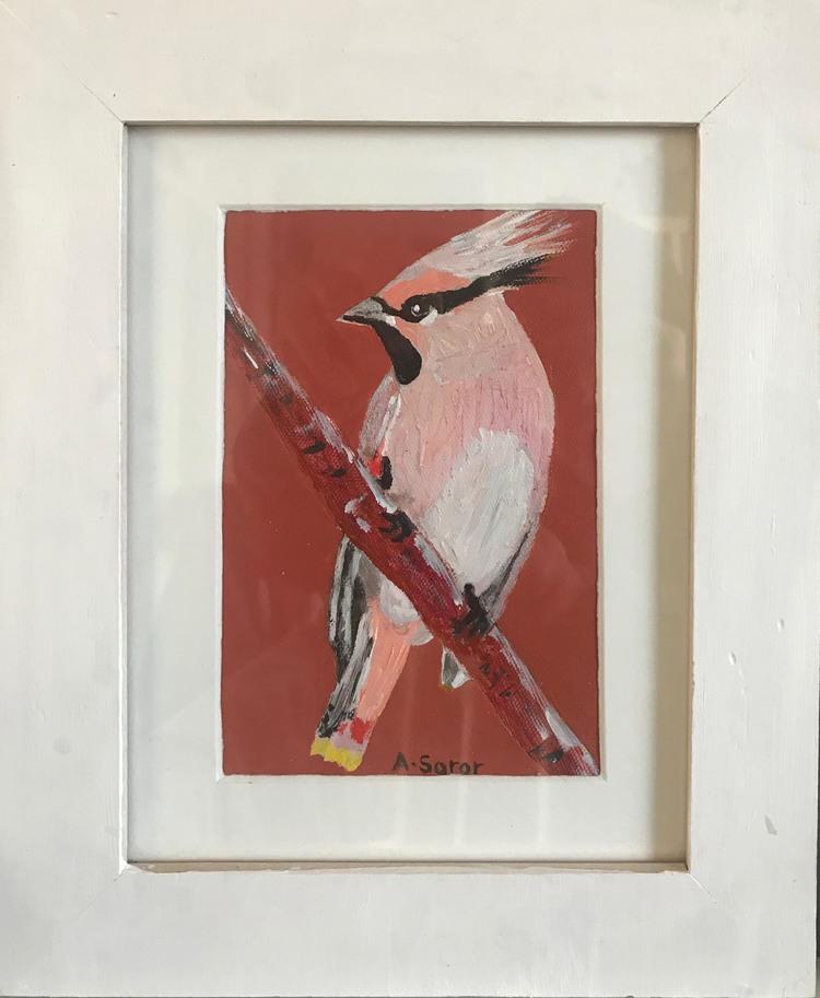 'Waxving (Sidensvans)', 2019, ett konstverk av Ali Soror