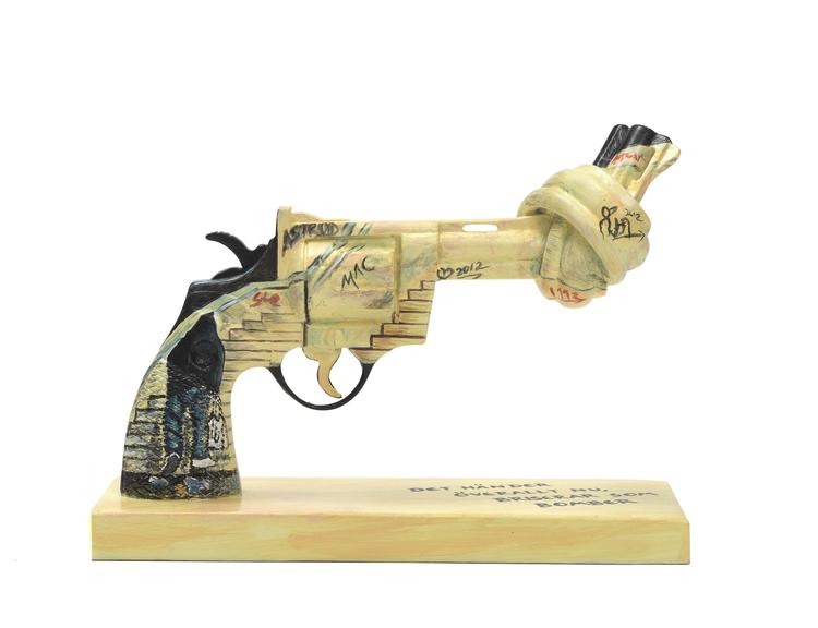 'Petter for Peace', 2018, ett konstverk av Petter