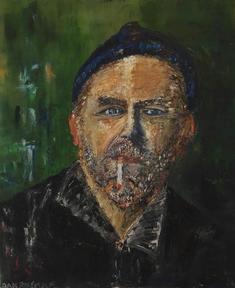 'Cigaretten', 2016, ett konstverk av Dan Ridemar