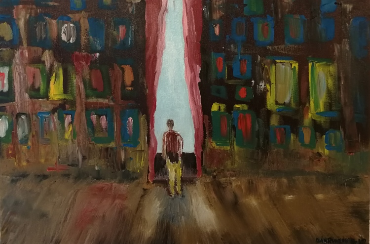 'Tomrum', 2018, ett konstverk av Dan Ridemar