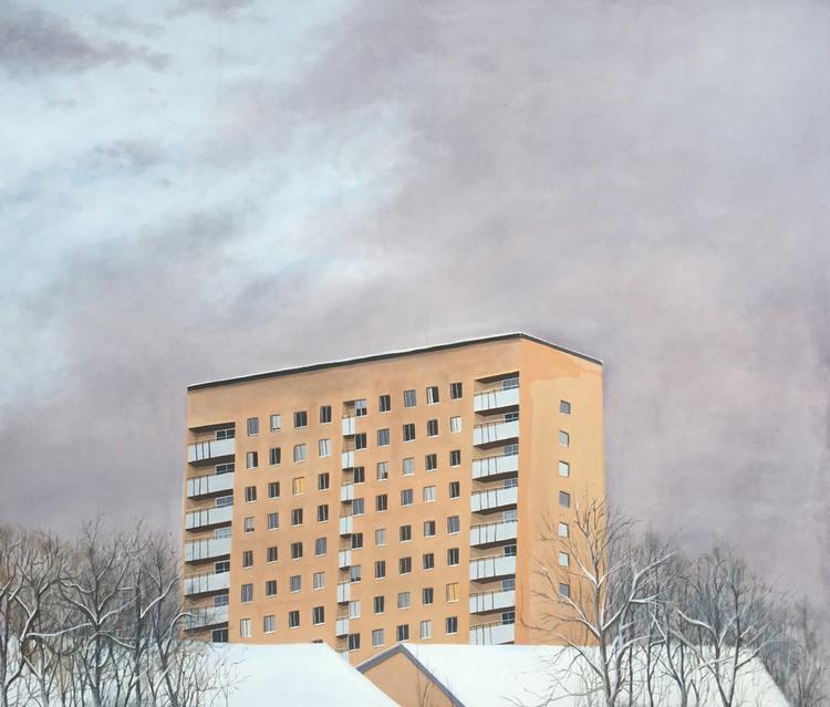 'Apartment store', 2015, ett konstverk av Alexander Hult