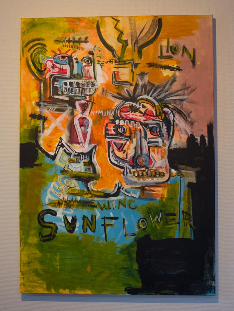 'Sunflower', 2018, ett konstverk av Alex Viik