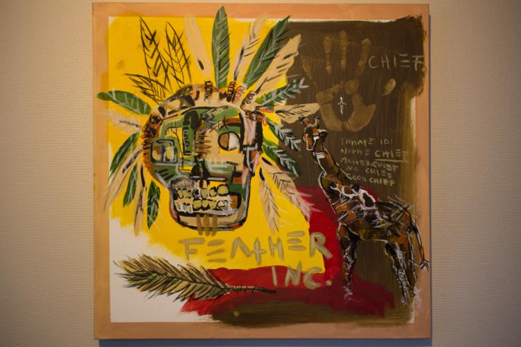 'Father, paint our way', 2018, ett konstverk av Alex Viik
