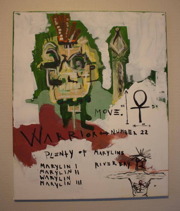 'Warrior Portrait', 2018, ett konstverk av Alex Viik