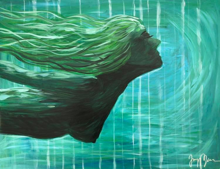 'The Trust in her', 2018, ett konstverk av Jenny Molin