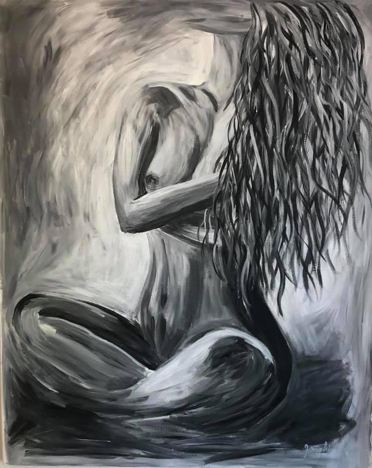 'The Security In Her', 2019, ett konstverk av Jenny Molin