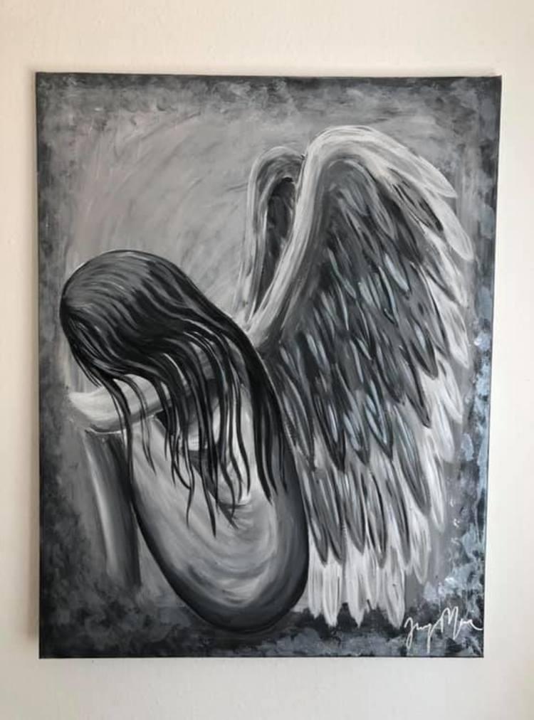 'The Sorrow In Her', 2019, ett konstverk av Jenny Molin