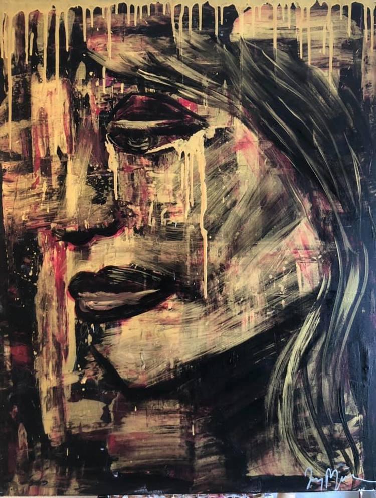 'The Pain In Her', 2019, ett konstverk av Jenny Molin