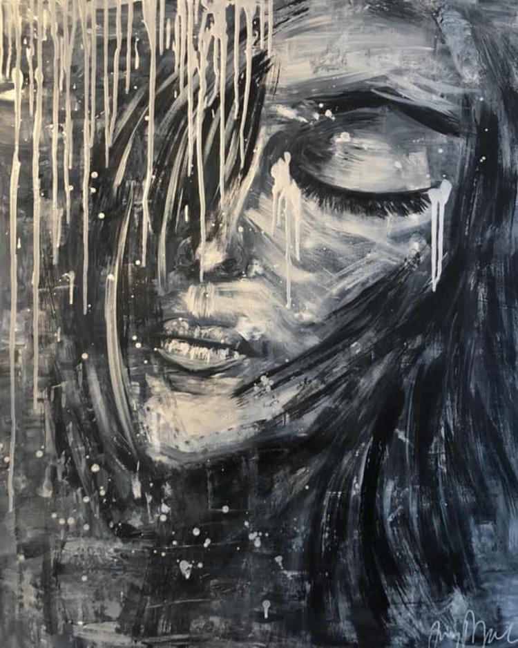 'The Relief In Her', 2019, ett konstverk av Jenny Molin