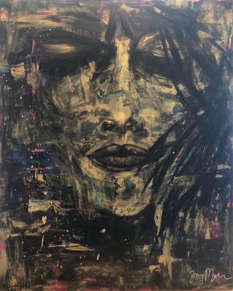 'The Trouble In Her', 2019, ett konstverk av Jenny Molin
