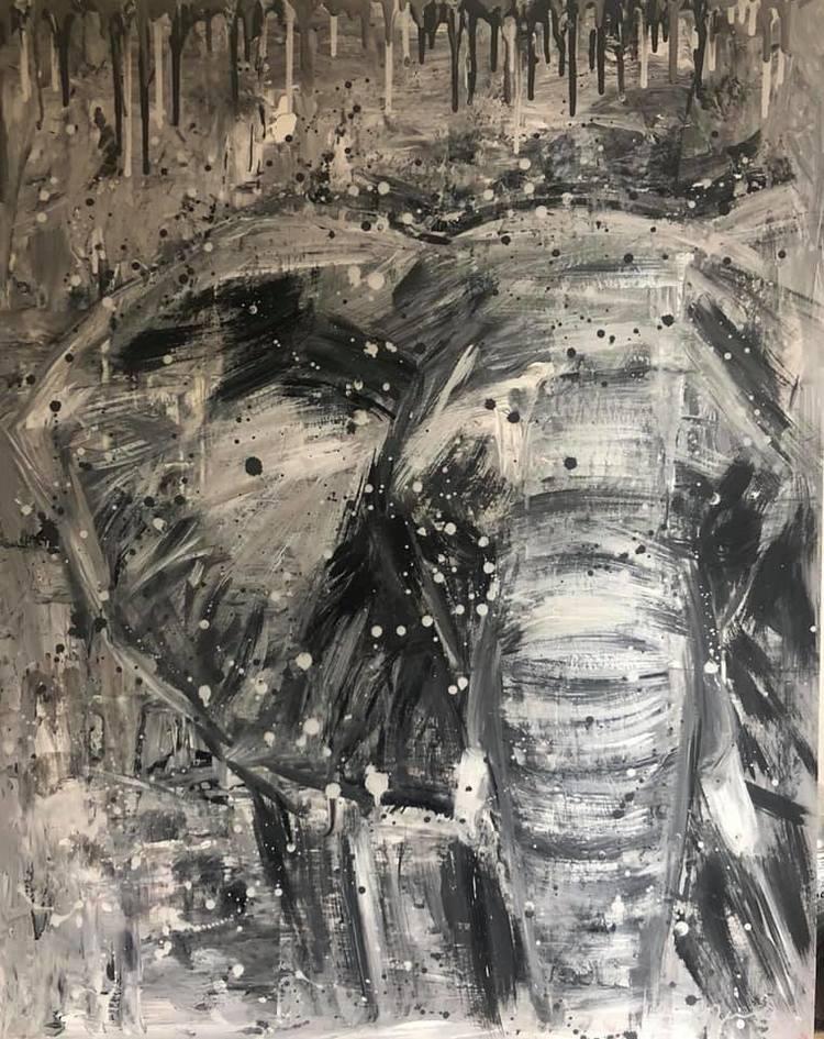 'Wild Power', 2019, ett konstverk av Jenny Molin