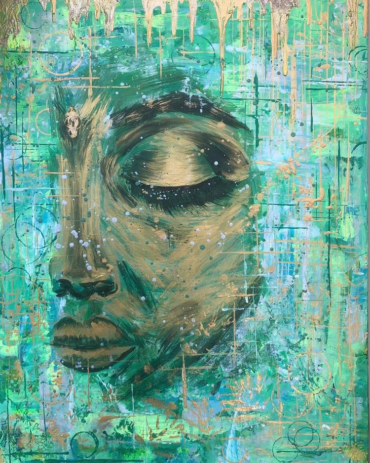 'The Truth In Her', 2019, ett konstverk av Jenny Molin