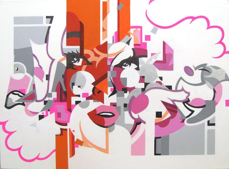 'unfUCKwithable', ett konstverk av Karolina Wojcik