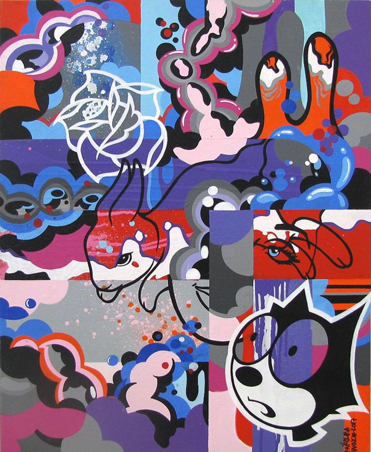 'Kanin', ett konstverk av Karolina Wojcik