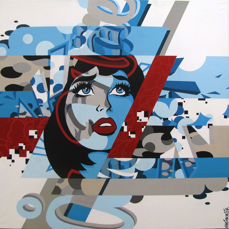 'Utan titel', ett konstverk av Karolina Wojcik