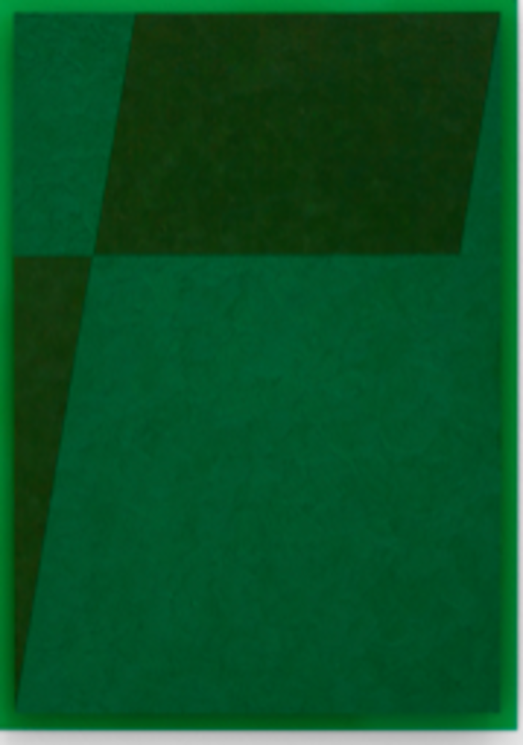 'The Green Series nr. 17 ', 2018, ett konstverk av Anders Sletvold Moe