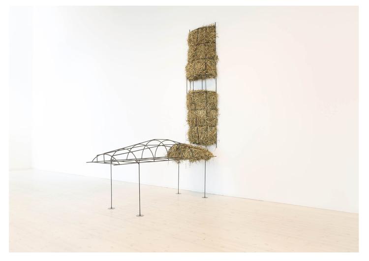 'Dust collar', 2017, ett konstverk av Melanie Wiksell