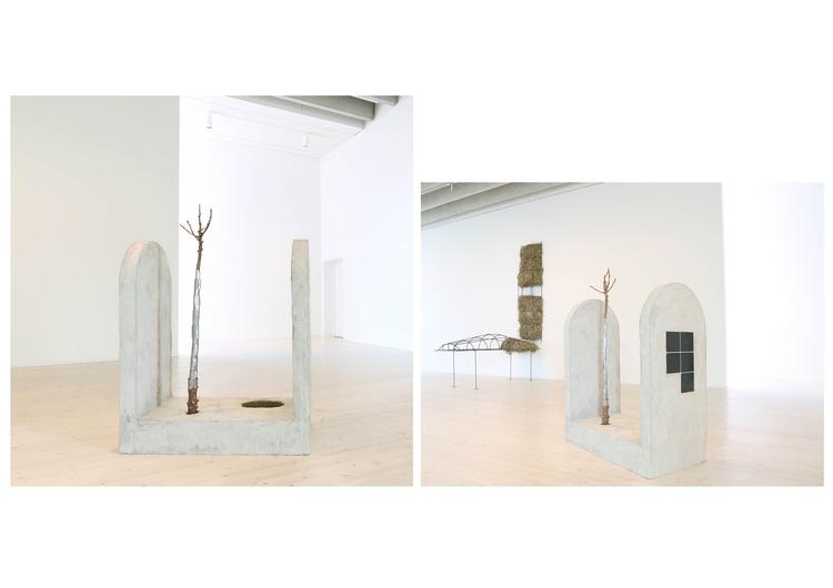 'Forest altar', 2017, ett konstverk av Melanie Wiksell