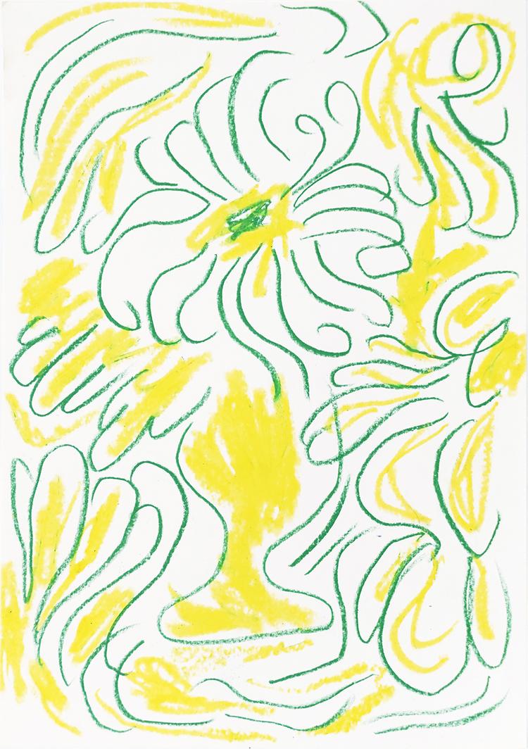 'Utan titel', 2020, ett konstverk av Tove Dreiman