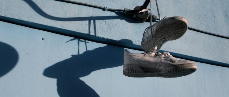 'Shoe', 2012, ett konstverk av Linus Eklund