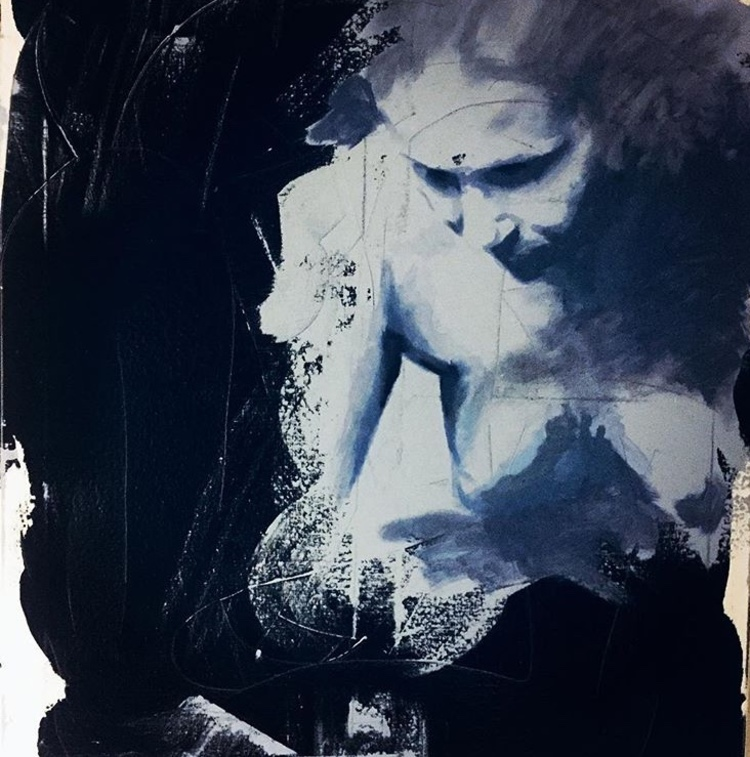 'Paus', 2018, ett konstverk av Ulrika Melin