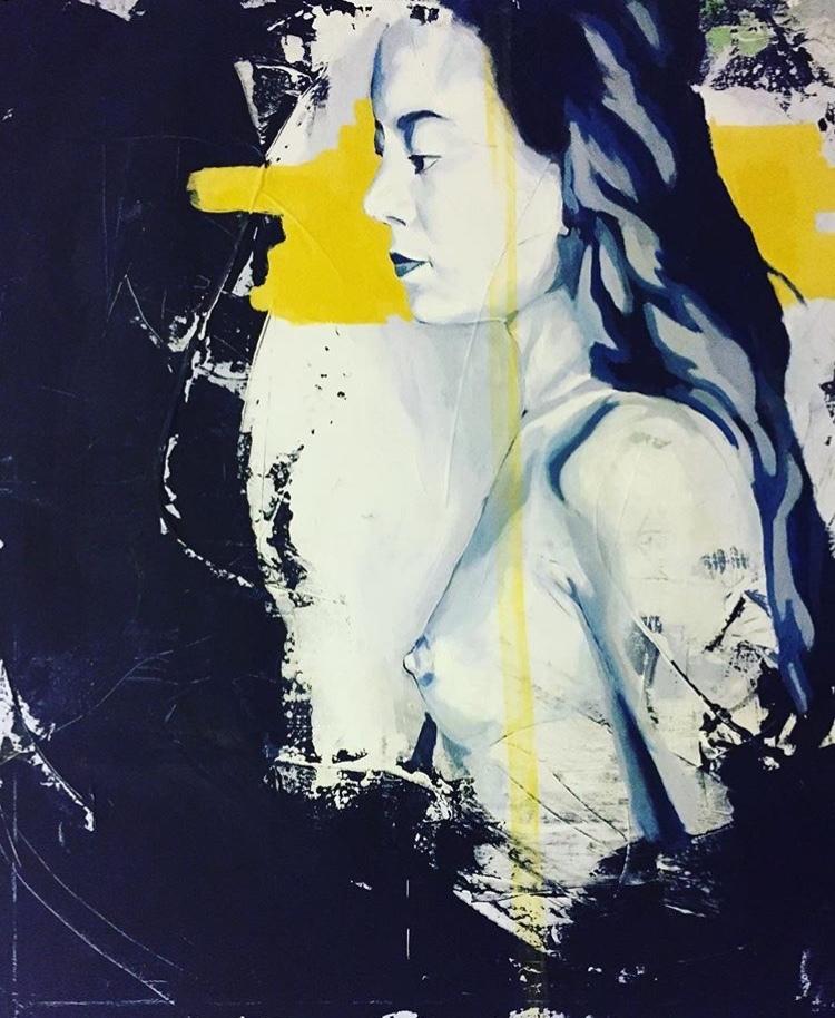'Spirit', 2018, ett konstverk av Ulrika Melin