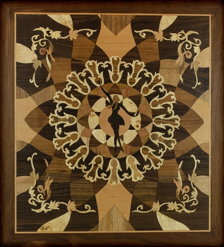 'Dansaren', 2019, ett konstverk av Oubiada Mualem\ Lindekosnt