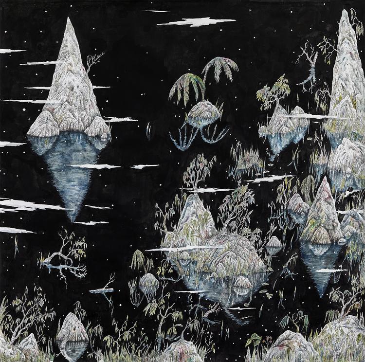 'Edens Cove', 2017, ett konstverk av Johan Björkegren
