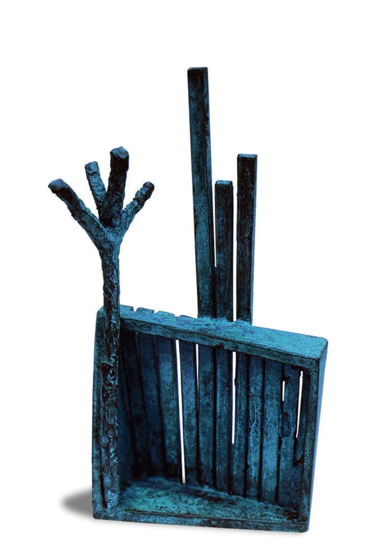 'Skog', ett konstverk av Thina Segerström