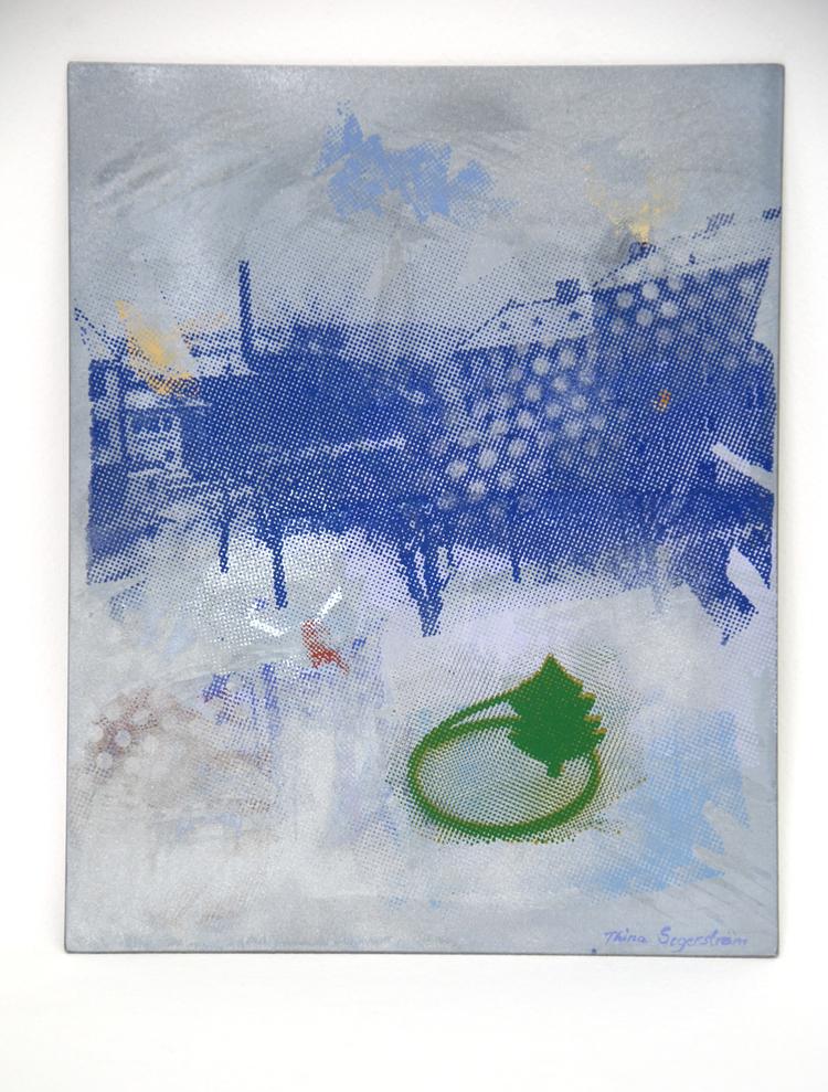 'Grönt träd', ett konstverk av Thina Segerström