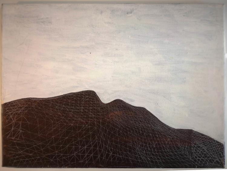 'Haptic Landscape II', 2014, ett konstverk av Backa Carin Ivarsdotter